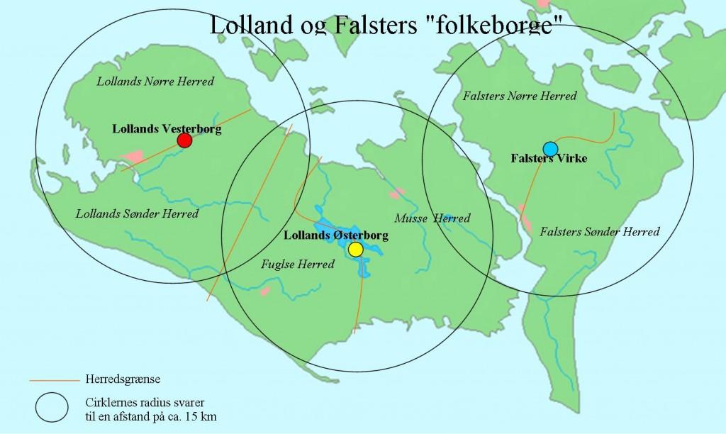 Folkeborge på Lolland Falster