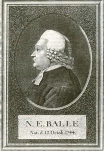 pu_n.e. balle, tegnet af g.l. lahde 1797 og stukket i kobber 1798. det kgl. bibliotek